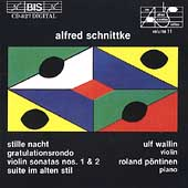 Schnittke: Music for Violin and Piano / U Wallin, R Pöntinen
