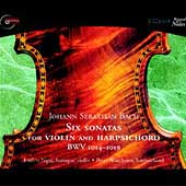 Bach: Six Sonatas for Violin & Harpsichord / Ngai, Watchorn