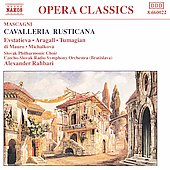 Mascagni: Cavalleria Rusticana / Rahbari, Evstatieva, et al