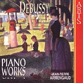 Debussy: Piano Works Vol 1 / Jean-Pierre Armengaud