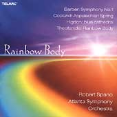 Rainbow Body - Barber, Copland, Higdon, Theofanidis / Spano