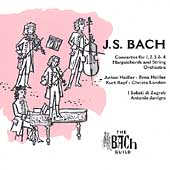 The Bach Guild - Bach: Concertos for Harpsichord / Heiller