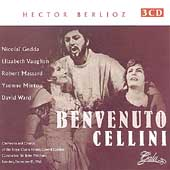 Berlioz: Benvenuto Cellini;  Auber / Pritchard, Gedda