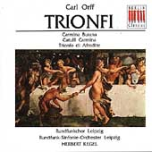 Orff: Trionfi / Herbert Kegel, Leipzig Radio SO, et al