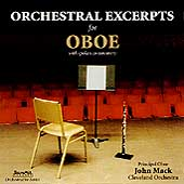 Orchestral Excerpts for Oboe / John Mack