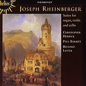 Rheinberger: Suites / Barritt, Lester, Herrick
