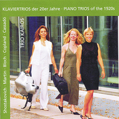 Piano Trios of the 1920s / Kairos Trio