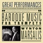 Baroque Music for Trumpets / Marsalis, Leppard, English CO