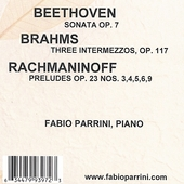 Beethoven - Brahms - Rachmaninoff