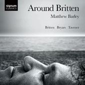 Around Britten - works for solo cello by Benjamin Britten, John Tavener and Matthew Barley / Matthew Barley, cello