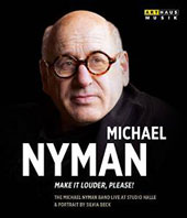 Michael Nyman: 'Make it Louder, Please!' - The Michael Nyman Band Live at Studio Halle [Blu-ray]