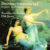 Brahms: Serenades no 1 & 2 / Joeres, West German Sinfonia