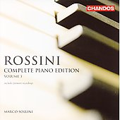 Rossini: Complete Piano Works - Vol 3 / Sollini