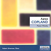 Copland: Piano Works / Silverman