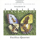 Blackwood: String Quartets / Pacifica Quartet