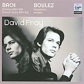 Bach, Boulez: Piano Works / David Fray