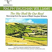 Vaughan Williams: Rare Songs from the Operas / Fox, Williams, et al
