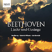 Beethoven: Lieder und Gesänge / Ann Murray, Roderick Williams, Iain Burnside