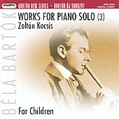 Bart&oacute;k: Works for Piano Solo / Zolt&aacute;n Kocsis