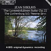Sibelius: Lemminkäinen Suite / Järvi, Gothenburg SO