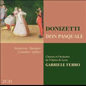 Donizetti: Don Pasquale / Ferro, Bacquier, Hendricks