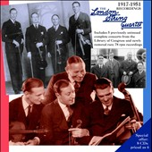 The London String Quartet: 1917-1951 Recordings. Beethoven, Bloch, Brahms, Bridge [8 CDs]