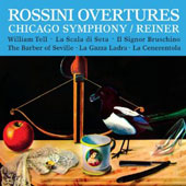 Rossini Overtures / Reiner - Chicago SO