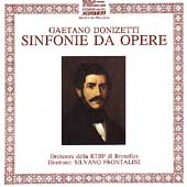 Donizetti: Opera Overtures and Sinfonias Vol 1