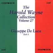 The Harold Wayne Collection Vol 27 - Giuseppe de Luca Part 1