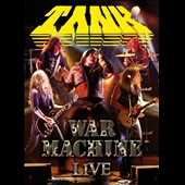 Tank (Heavy Metal): War Machine Live [Digipak]
