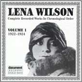 Lena Wilson: Complete Recorded Works in Chronological Order, Vol. 1 (1922-24)