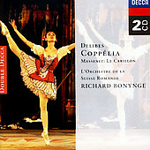 Delibes: Copp&eacute;lia;  Massenet / Bonynge, Suisse Romande