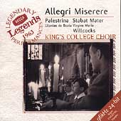 Allegri: Miserere;  Palestrina / Willcocks, et al