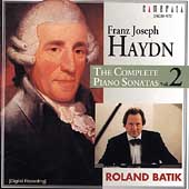 Haydn: Complete Piano Sonatas Vol 2 / Roland Batik