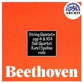 Archiv - Beethoven: String Quintets Op 4 & 104 / Suk Quartet