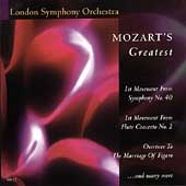 Mozart's Greatest
