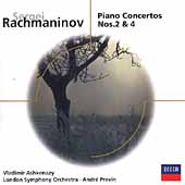 Eloquence - Rachmaninov: Piano Concerto no 2 & 4 / Ashkenazy