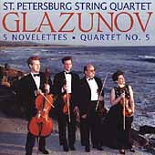 Glazunov: 5 Novelettes, etc / St. Petersburg String Quartet