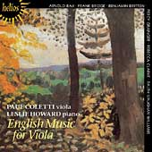 English Music for Viola / Paul Coletti, Leslie Howard