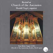Recital at Church of the Ascension / Harald Vogel