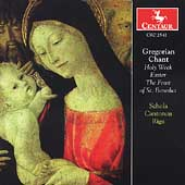 Gregorian Chant - Holy Week, etc / Schola Cantorum Riga