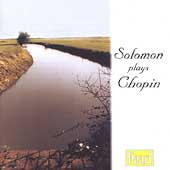 Solomon plays Chopin