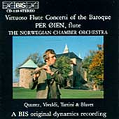 Virtuoso Flute Concerti of the Baroque / Per Oien