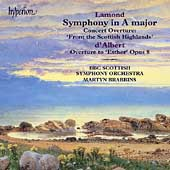 Lamond: Symphony in A Major;  D'Albert / Brabbins, et al