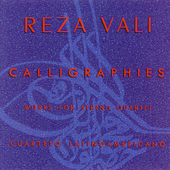 Vali: Works for String Quartet / Cuarteto Latinoamericano
