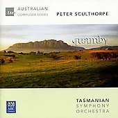 Peter Sculthorpe: 'Quamby'; 'Nourlangie' for Guitar & Orchestra; 'Cello Dreaming'; 'Music for Bali' / Karin Schaupp, guitar; Tasmanian SO; Mills