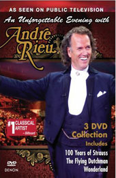 An Unforgettable Evening With Andre Rieu [3 DVD Box]