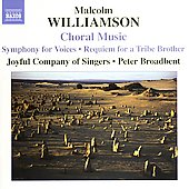 Williamson: Choral Music / Joyful Company of Singers