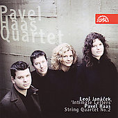 Jan&#225;cek, Haas: String Quartets / Currie, Haas Quartet