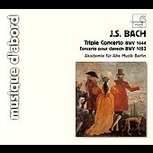 Bach, M&uuml;thel: Keyboard Concertos, etc / Schornsheim, et al